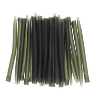 30pcs/set 53mm/2.1'' Anti Tangle Sleeves Carp Fishing Tackle Outdoor Green