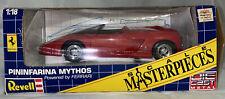 1991 VTG Revell Ferrari Pinifarina Mythos 1:18 Scale Diecast Model Red