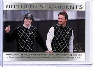 2014 SP Authentic #71 Rory McIlroy Graeme McDowell Golf Card NM-MT AM ID:10224