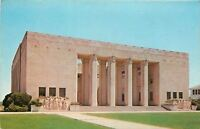 Jackson Mississippi~Soldiers Bas Relief~War Memorial Building~1960s Postcard
