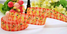 My Little Pony Applejack 25mm Grosgrain Ribbon for card Making or Bows.