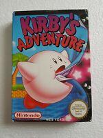 Kirby's Adventure - Nintendo NES Game [PAL A UKV] CIB boxed/manual