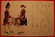 14 Planches d'uniformes Jean Boudriot
