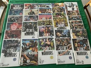 SECRET WARRIORS (2009)  #1-28 complete series + Variants, Dark Reign, Marvel
