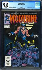 Wolverine #1 CGC 9.8 (1988) 1st Wolverine as Patch!KEY ISSUE!L@@K!