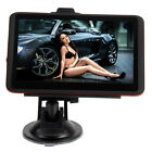 "5"" Inch LCD HD Touch Auto Motor Car GPS Navigation USA Canada and Mexico Map CA"