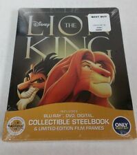 The Lion King Blu-Ray DVD Collectible Steelbook NEW