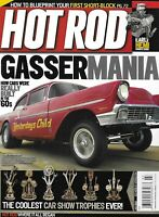 Hot Rod Auto Magazine Real Gassers of the 60's Coolest Car Show Trophies 2012