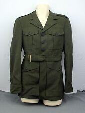 USMC United States Marine Corps Officer Green Military Dress Coat Shirt Jacket