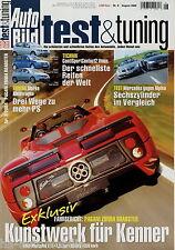 Auto Bild test & tuning 8 04 2004 Ariel Atom 2 Clio 2.0 16V Sport Ibiza 1.8 20V