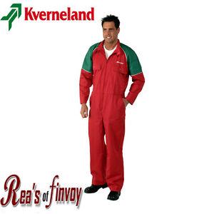 Kverneland Overalls/Boilersuit Red (Adult)