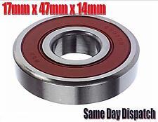 6303 2RS Cuscinetto 17 mm x 47 mm x 14 mm confezione di 5 CUSCINETTI ALTERNATORE