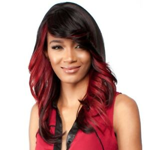H-JESS BY R&B COLLECTION 21 TRESS MALAYSIAN HUMAN HAIR BLENDED FLIP CURL WIG
