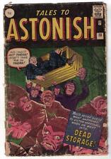 Marvel TALES TO ASTONISH 33 1.5 G- HORROR DEAD STORAGE