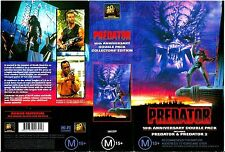 Predator/Predator2 10th Anniversary VHS Set. Excellent Condition. RARE!