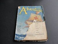 ADVENTURE PULP, Published by Ridgway Company, N. Y.-January 20th,1922 Magazine.