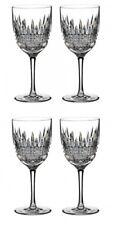 Lismore Diamond Red Wine set of 2 Pairs 4 Wine glasses New # 160018