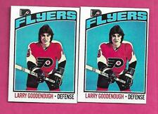 1976-77 TOPPS # 96 FLYERS LARRY GOODENOUGH 2ND YEAR  CARD (INV# C0046)