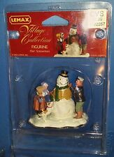Lemax Village Collection Figurines Our Snowman 2005 52088