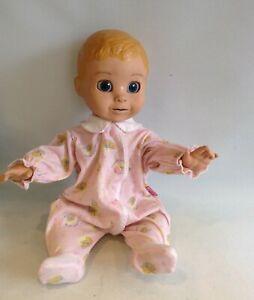 LUVA BELLA Blonde Hair Interactive Baby Doll
