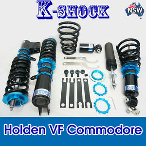 KshockHolden VF Commodore coilover full kit 24 levels , adjustable coilover