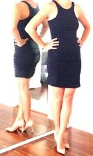 Topshop little black dress fitted sleeveless S Small 4 38 -  SO SEXY!!