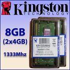 RAM DDR3 8GB (2x4GB) 1333Mhz - Para Portátil ¡ NUEVA ! - 100% COMPATIBLE