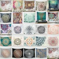 Printed Indian Tapestry Mandala Wall Hanging Elephant Bedspread Tapestry Carpet