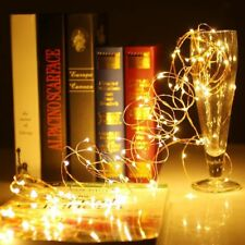 Hot 20 LED Battery Power Operated Copper Wire Fairy String Light For Party XMAS