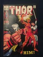 THOR #165 (1969) 1st App (Him) Adam Warlock - Structurally VF+ (8.5) with foxing