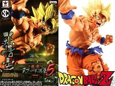 ☀ Dragon Ball DBZ Super Saiyan SS Goku Banpresto SCultures 5 Figure Figurine ☀