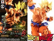 ☀ Dragon Ball DBZ Super Saiyan SS Goku Banpresto SCultures 5 Figure Figurine ☀