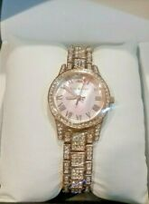 Juicy Couture Black Label Ladies Watch JC/1260PMRG Rose Gold & Crystals NWT