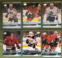 Rookies: Young Guns/Ice/Fleer/Trilogy/Black Diamond and more