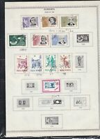 romania issues of 1963 stamps page ref 18282
