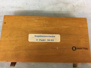 Bügelmessschraube 50-65 mm für Fünf - bzw. Dreipunkt-Messung - TESA
