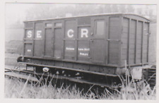 TRAIN CARRIAGE 164 AT PURLEY RAILWAY STATION - POSTCARD SIZED PHOTOGRAPH  SURREY