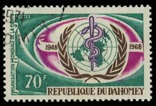 DAHOMEY 251 (Mi343) - WHO 20th Anniversary (pf74346)