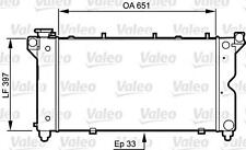 VALEO Engine Cooling Radiator Fits CHRYSLER Grand Voyager MPV 1995-2001