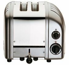 Dualit Classic Two 2-Slice Toaster Bread Kitchen Charcoal Electric Ejector Lever