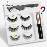Eye-liner liquide magnétique 5 cils magnétiques et faux cils magnétiques