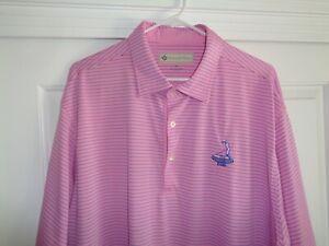 Donald Ross XXL Poly Golf Polo Shirt - Pinehurst 1895 - Superb!!