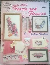 Cros Stitch Hearts and Flowers in Cross Stitch by ASN