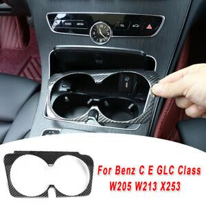 Cup Holder Frame Cover Trim Accessories For Mercedes-Benz C E GLC W205 W213 X253