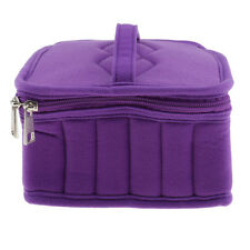 36 Bottles Essential Oils Nail Polish Carry Storage Aromatherapy Bag Case