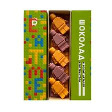 chocolate construction toy set