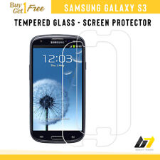 For Samsung Galaxy S3 III Genuine Tempered Glass Screen Protector LCD Saver Film