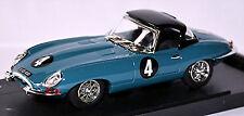 Jaguar E-Type Spider Hard Top Oulton Park 1961 #4 Blue Blue 1:43