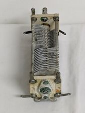 Hammarlund Air Variable Capacitor Dual Section 2x12-108 pF Vintage