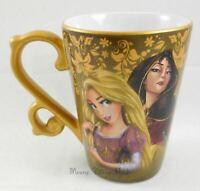 New Disney Store D23 Designer Fairytale Tangled Rapunzel Gothel Ceramic Mug Cup